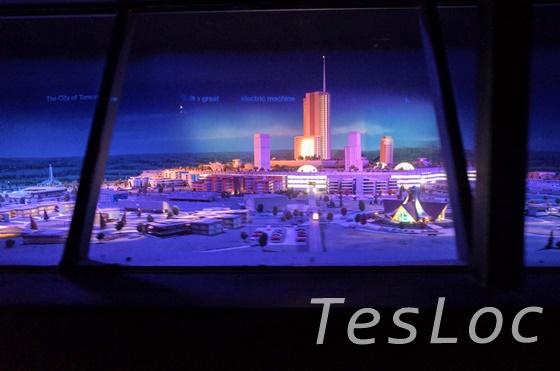 WDWマジックキングダム「トゥモローランド・トランジット・オーソリティ」EPCOT計画模型