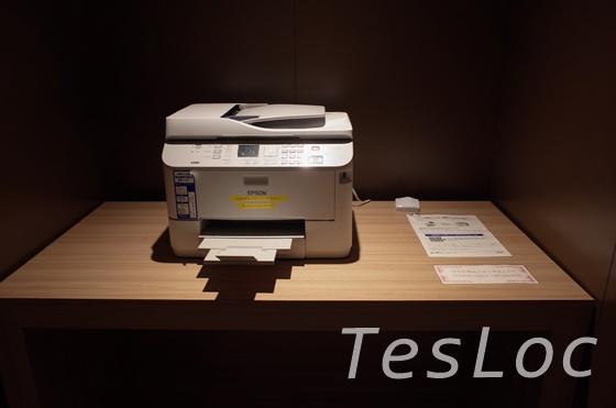 JAL「サクララウンジ」コピー機