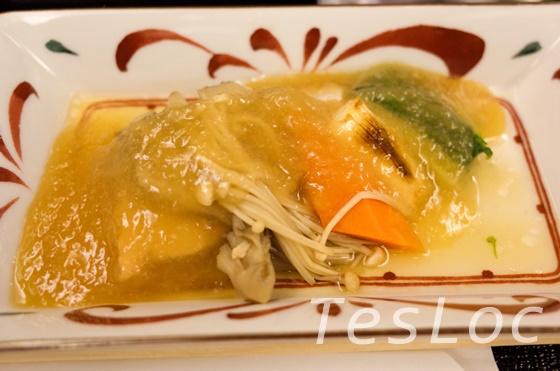 羽田ー台北松山間ビジネスクラスの鮭のしぐれ煮