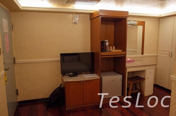 台北鴨川旅館の家具類