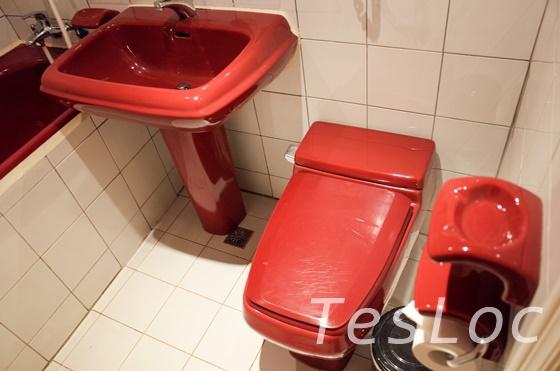 台北鴨川旅館のバスルーム