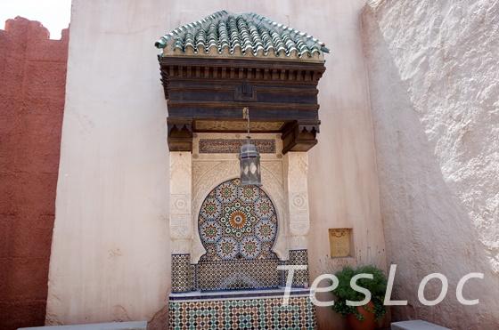 WDWエプコット「ワールドショーケース」モロッコ館タイル