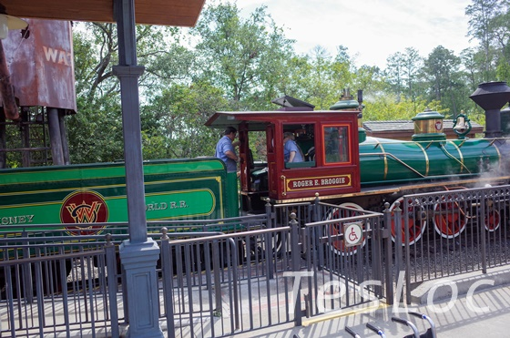 WDWマジックキングダム「ウォルト・ディズニー・ワールド・レイルロード」先頭車両