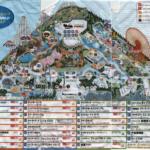 スペースワールドのマップ