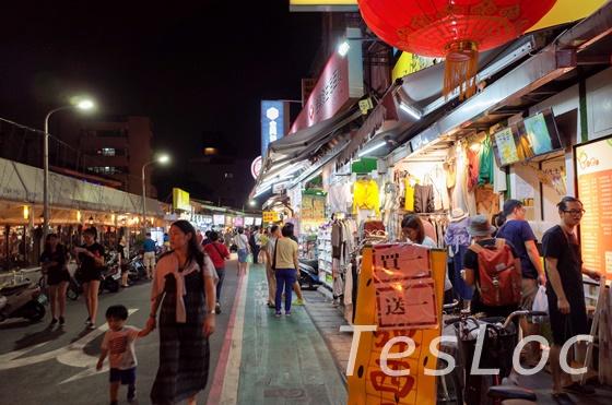 台湾「師大夜市」入り口