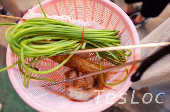 台湾「師大夜市」燈籠滷味購入品