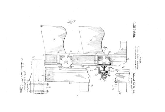 ミラーの特許