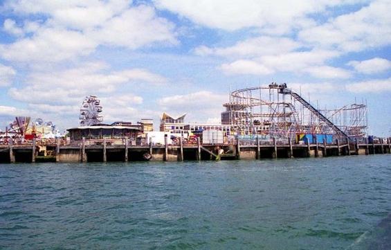 桟橋遊園地のイメージ