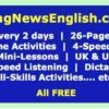 Breaking News English Lessons: Easy English News Materials | Current Events | ES